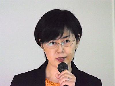 東京女子医科大学病院栄養管理部栄養士長 柴崎 千絵里 氏